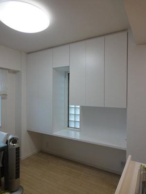 スッキリ美しい白い収納家具たち
