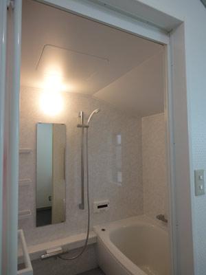 勾配天井の浴室リフォーム