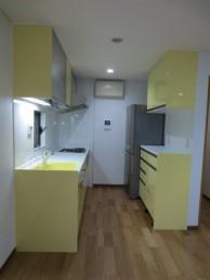 幸せの色は黄色!奥様お気に入りのキッチン