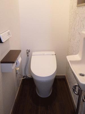 LIXIL サティスリトイレSタイプにお取替え
