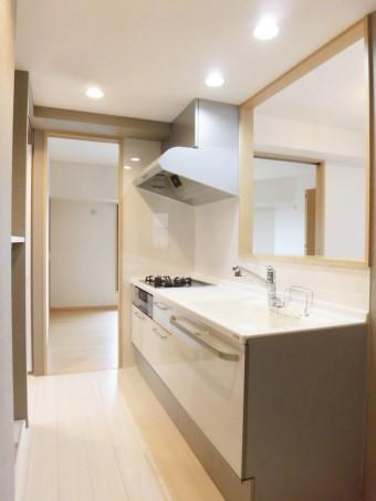 最適な作業動線で快適なキッチンに 新宿区K様邸
