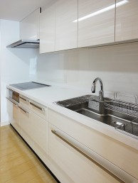 優れたデザイン性と最新機能―お掃除ラクラクなキッチン