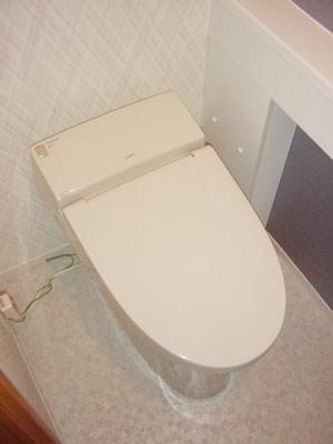 LIXIL サティスSタイプ手洗いカウンター付きに交換