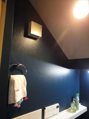 壁塗装でイメージを一新