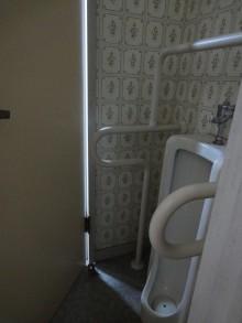 小便器を撤去して広々とした使いやすいトイレに