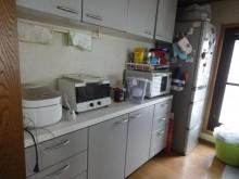 吊戸と壁を撤去して明るく広々としたキッチンに