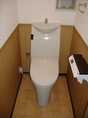 トイレを変えて節水に