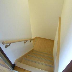 階段に手すり