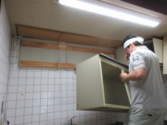 戸建てのセット型キッチンをシステムキッチン