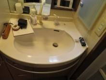 高級感のあるオシャレな洗面空間に