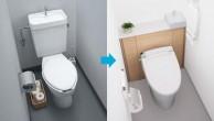 トイレと洗面室をリフレッシュでお掃除ラクラクに!