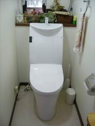 LIXILの一体型トイレ・アステオにお取替え!