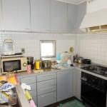 こだわりのコの字型キッチン&スタイリッシュな水廻り設備にリフォーム