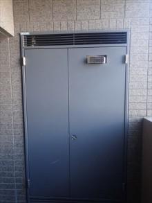 平型レンジフードと熱源機交換