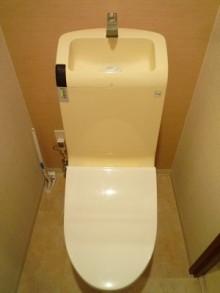 TOTO ネオレスト・ハイブリット手洗器付にお取替え