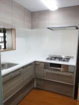 I型からL型に変更し、使いやすいキッチンに