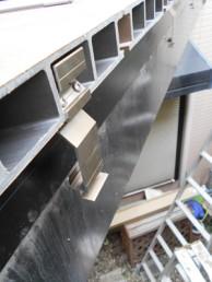 木製ウッドデッキから樹脂製ウッドデッキに交換工事