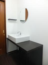LIXIL サティスとカウンター付洗面器に交換